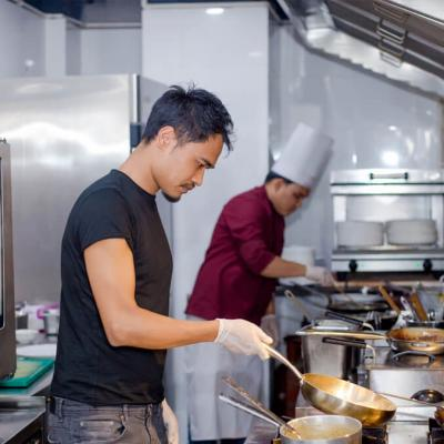 Chef James Gurung Event.
